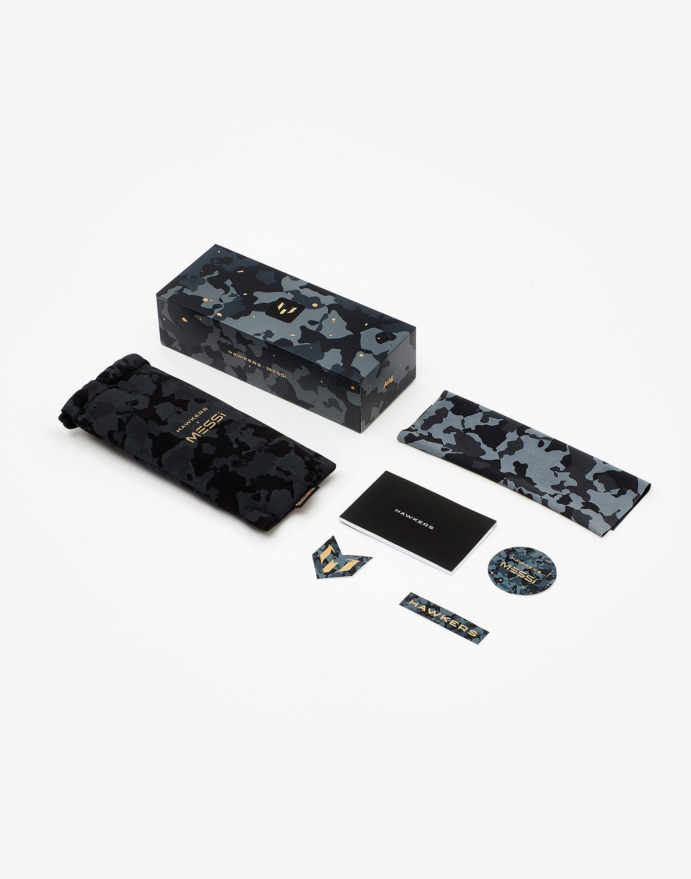 Messi x Hawkers · All Camo Chrome One Kids