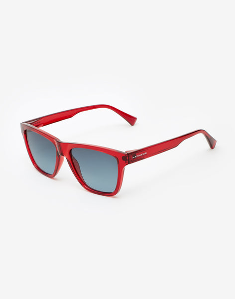Gafas de sol Crystal Red Blue Gradient ONE LS vista lateral