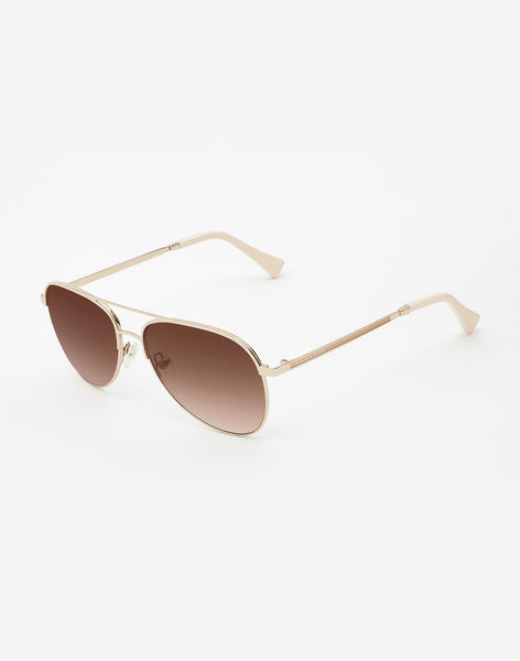 Gafas de sol Gold Brown Gradient Lacma