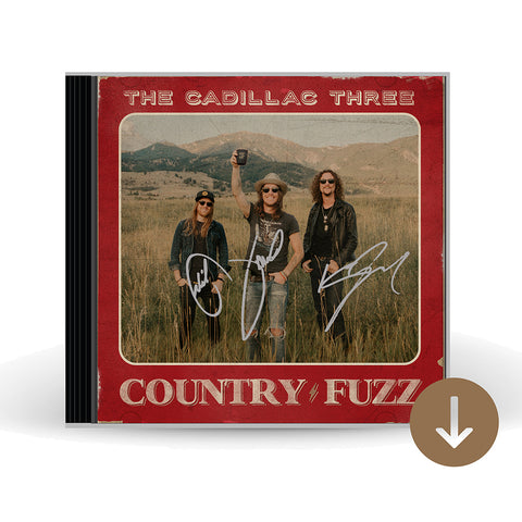 COUNTRY FUZZ AUTOGRAPHED CD + DIGITAL ALBUM