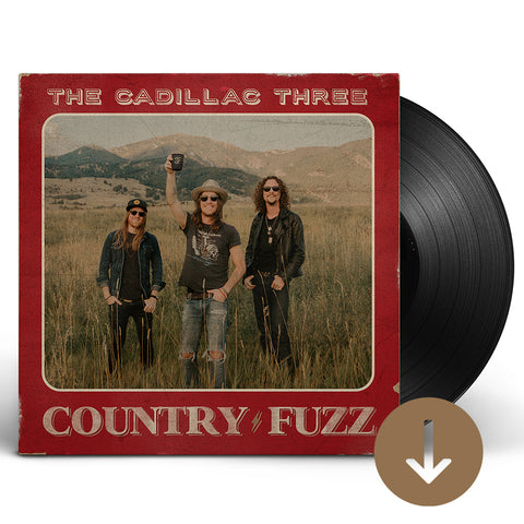 COUNTRY FUZZ AUTOGRAPHED VINYL + DIGITAL ALBUM