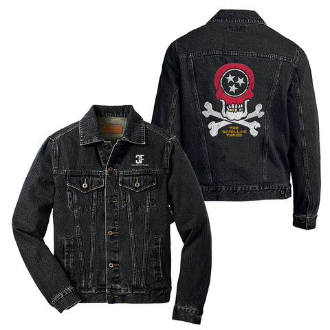 COUNTRY FUZZ DENIM JACKET
