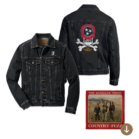 COUNTRY FUZZ DENIM JACKET + DIGITAL ALBUM