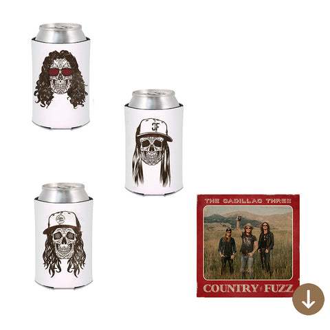 COUNTRY FUZZ 3 KOOZIE SET + DIGITAL ALBUM