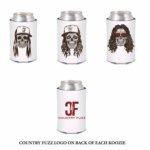 COUNTRY FUZZ 3 KOOZIE SET