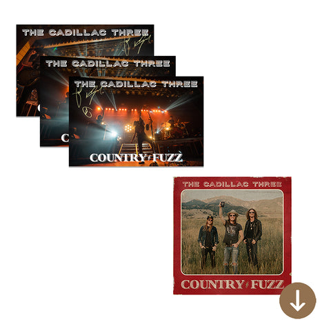 COUNTRY FUZZ POSTCARD SET + DIGITAL ALBUM