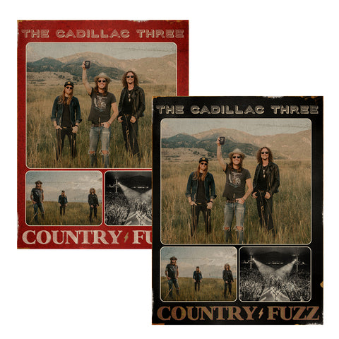 COUNTRY FUZZ POSTER