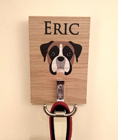 Personalised Dog lead holders