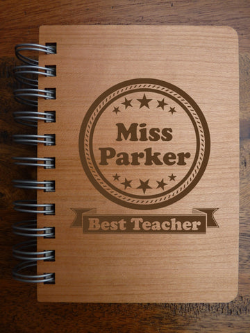Best Teacher Notebook Personalised