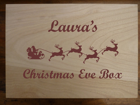 Personalised Christmas Eve Box : Large