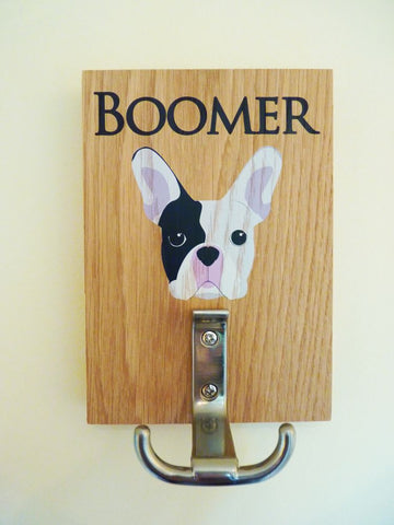 French Bulldog lead holder