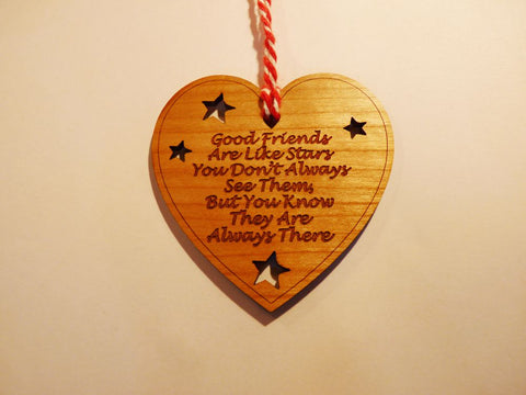 Good Friends Are Like Stars - Gift Decorations