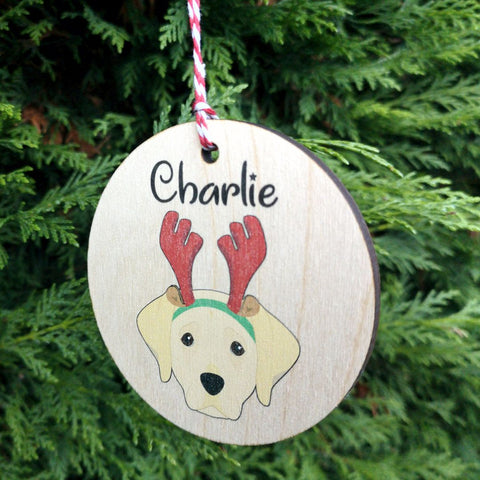 Personalised Labrador Dog Decoration