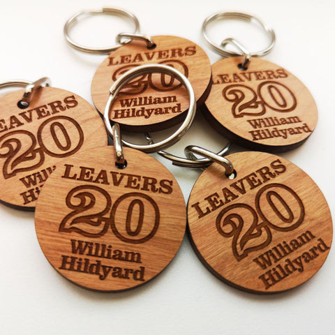 Leavers 20 Keyrings