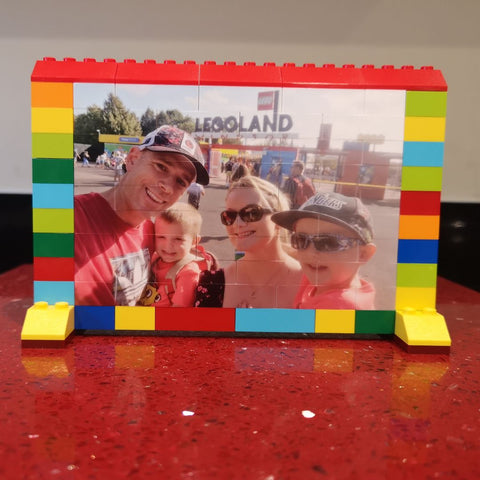 Personalised Lego Photo Frame