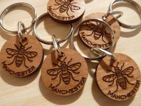 Manchester Worker Bee Keyring: Fundraising for Manchester Terror Attack victims