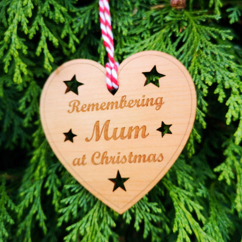 Remembering Mum at Christmas bauble