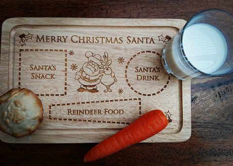 Personalised Santa Plate | Christmas Eve Plate
