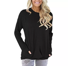 Load image into Gallery viewer, Long sleeve blank t-shirt