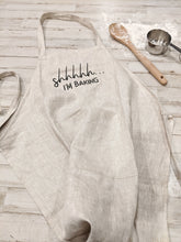 Load image into Gallery viewer, Linen Modern Vintage Apron