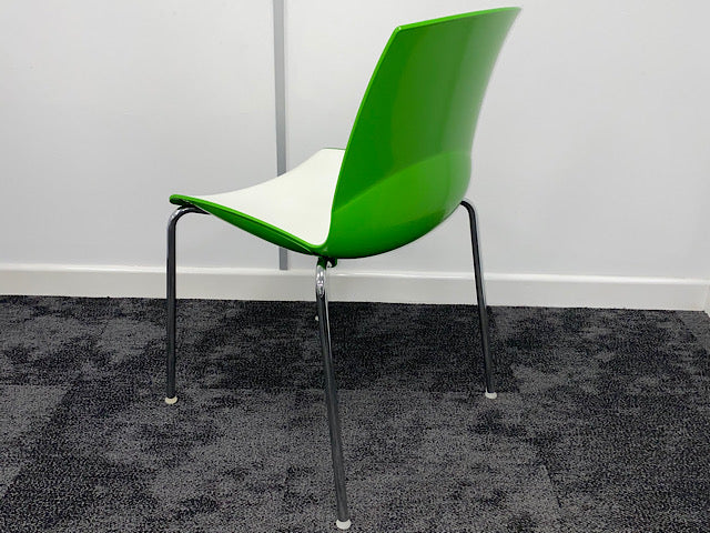 Used Connection Ice Breakout/Canteen Stackable Chairs
