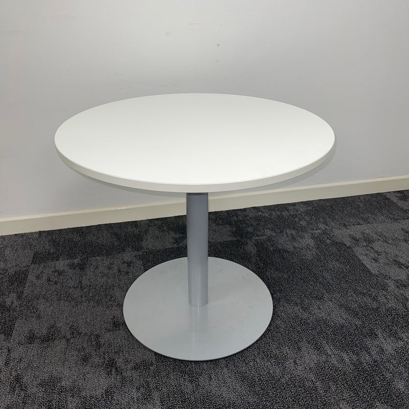 Used White Round Table 900mm
