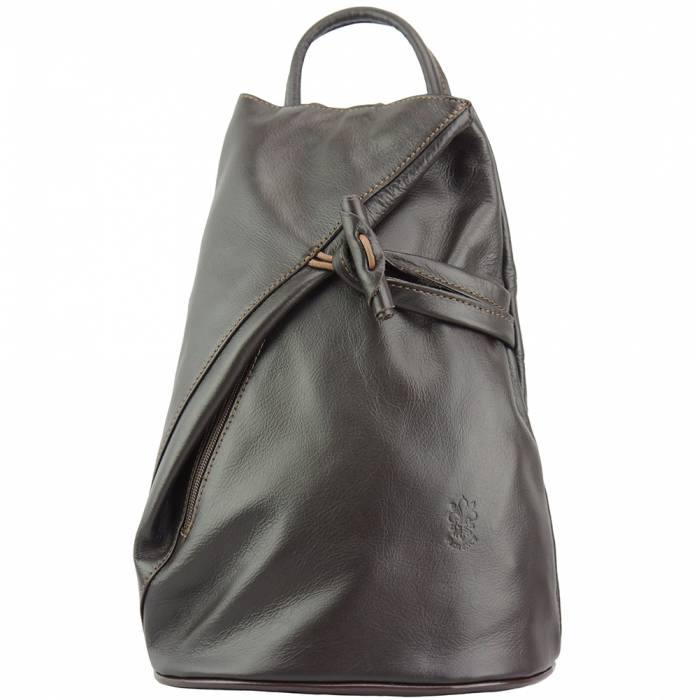 Fiorella leather backpack