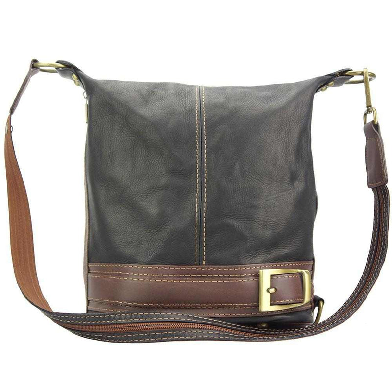 Caterina leather bucket bag