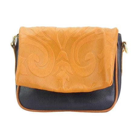 Amara leather shoulder bag