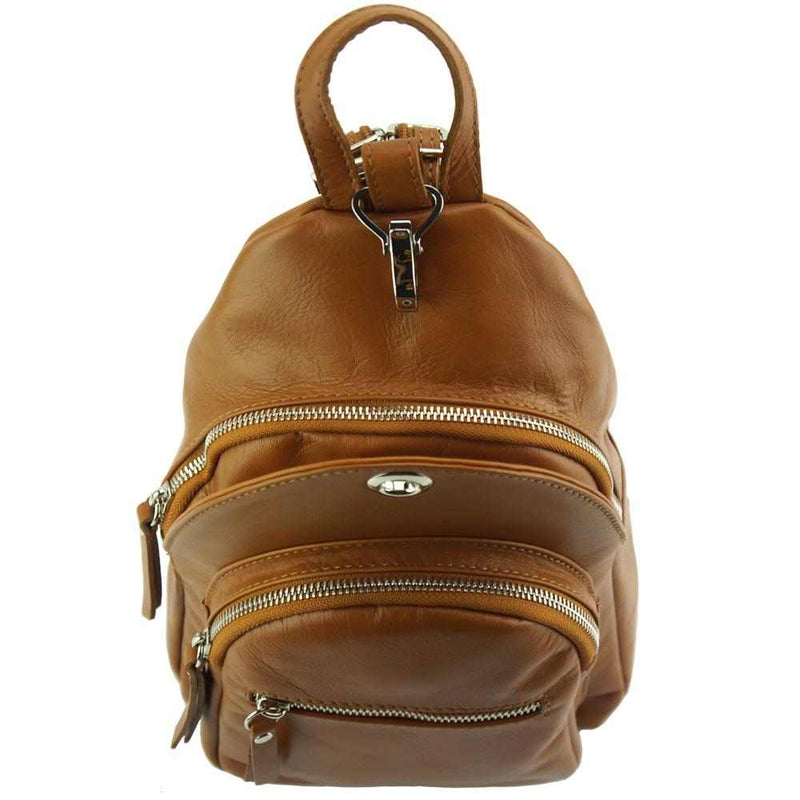 Olivia leather Backpack