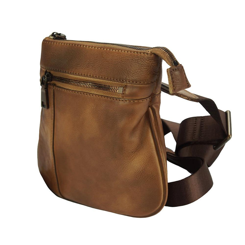 Frontiniano Cross body leather bag