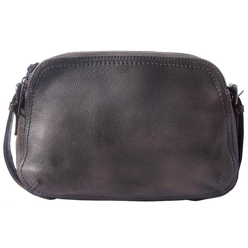 Twice GM leather cross-body bag