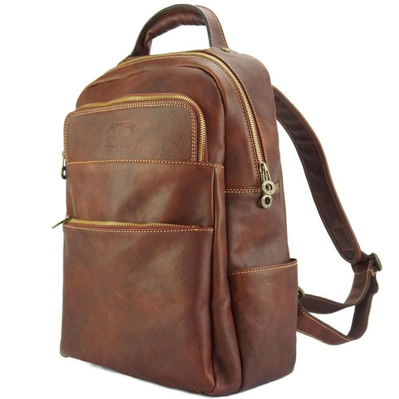 Charlie backpack in cow leather