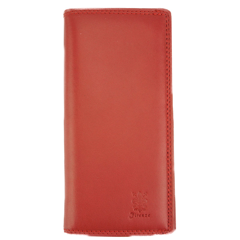 Rosalinda wallet in soft calf leather