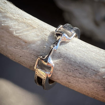snaffle bit, bit ring, horsehair ring, snaffle bit horse hair ring, snaffle ring