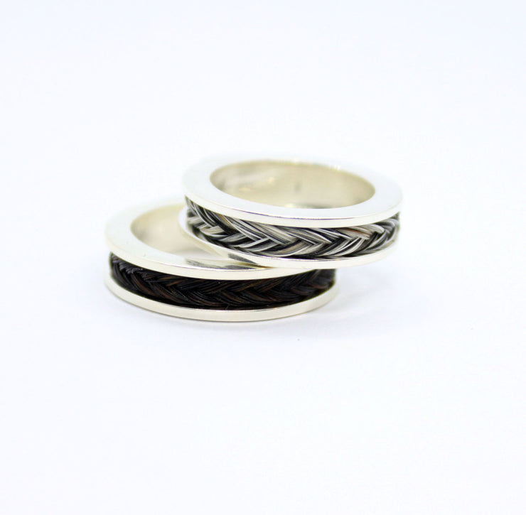 diy, do it yourself ring, make your own horsehair ring, horsehair ring, how to make horse hair ring