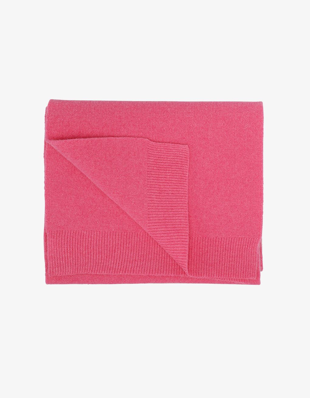 Colorful Standard Merino Wool Scarf Scarf Bubblegum Pink