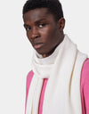 Colorful Standard Merino Wool Scarf Scarf Optical White