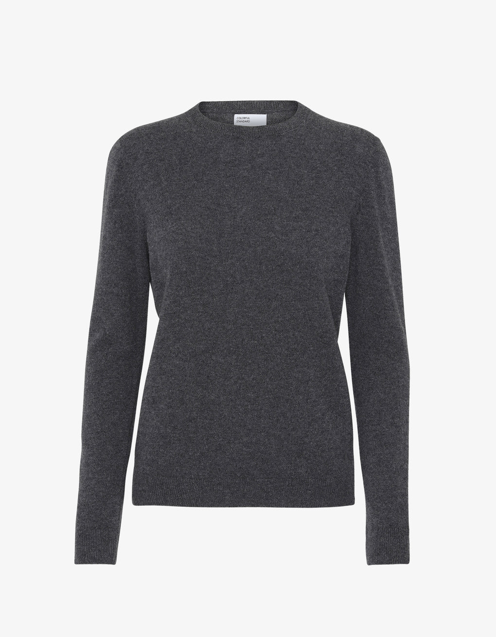 Colorful Standard Women Light Merino Wool Crew Women Merino Crewneck Lava Grey