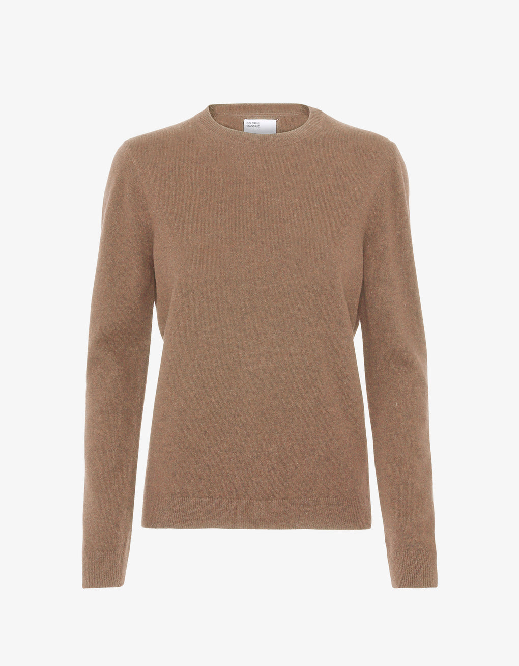Colorful Standard Women Light Merino Wool Crew Women Merino Crewneck Sahara Camel