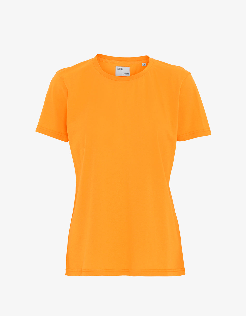 Colorful Standard Women Light Organic Tee Women T-shirt Sunny Orange