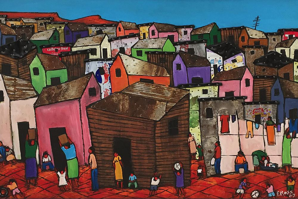 Supporting Township Artist | Buy South African Art | Fine Art Portfolio