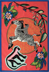 Zebra Rider Sunset Ardmore Tea Towel
