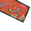 Monkey Paradise Coral Ardmore Table Runner