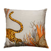 Cheetah Kings Forest Magnolia Cotton Ardmore Cushion Cover