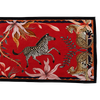 Sable Royal Red Ardmore Table Runner