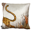 Cheetah Kings Magnolia Velvet Ardmore Cushion Cover