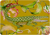 Flame Lilly Crocodile Swamp Ardmore Hard Board Placemats