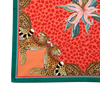 Leopard Lilly in Coral Ardmore Napkins - Set of 2