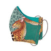 Leopard Lilly Delta Ardmore Face Mask